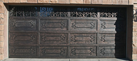 & Ornamental Iron Garage Doors